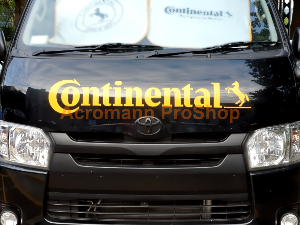 Continental Windshield Decal (Style#3)