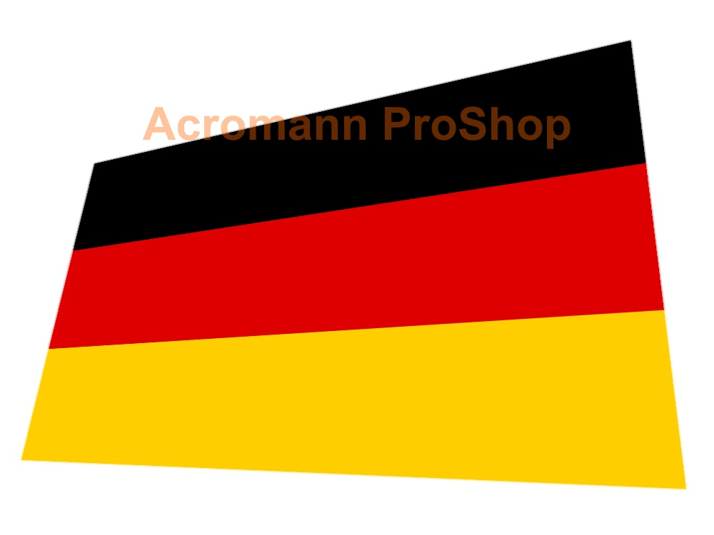 Germany Flag 5inch Decal (Style#1) x 1 pc