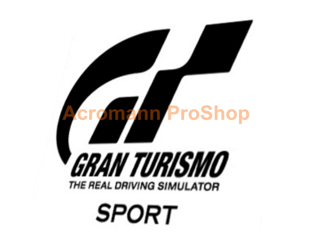 Gran Turismo Sport 6inch Decal (Style#1) x 2 pcs