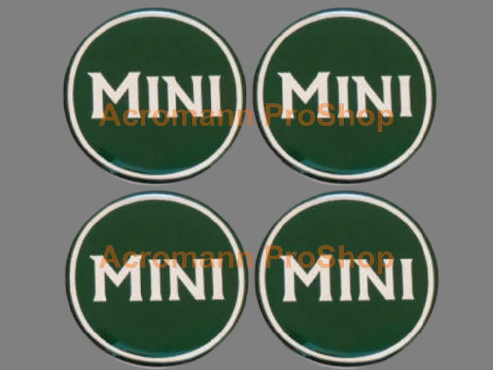 Mini Cooper MINI 2inch Wheel Cap Decal (Style#3) x 4 pcs