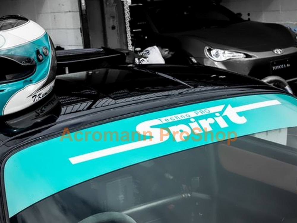 Techno Pro Spirit Windshield Decal (Style#1)